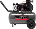 20 Gallon Portable Wheeled Oil Lubricated Cast Iron Electric Compressor